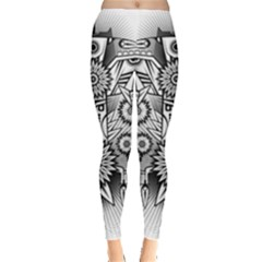 Forest Patrol Tribal Abstract Leggings