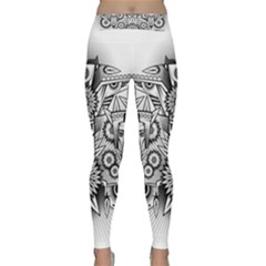 Forest Patrol Tribal Abstract Classic Yoga Leggings