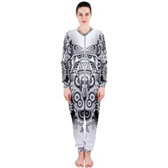 Forest Patrol Tribal Abstract Onepiece Jumpsuit (ladies)