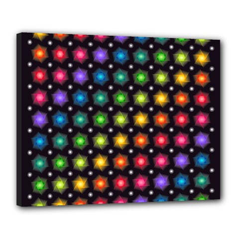 Background Colorful Geometric Canvas 20  X 16