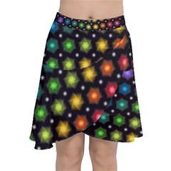 Background Colorful Geometric Chiffon Wrap