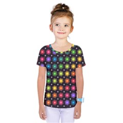 Background Colorful Geometric Kids  One Piece Tee