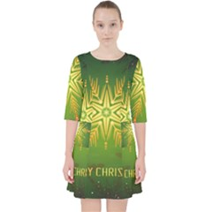 Christmas Snowflake Card E Card Pocket Dress