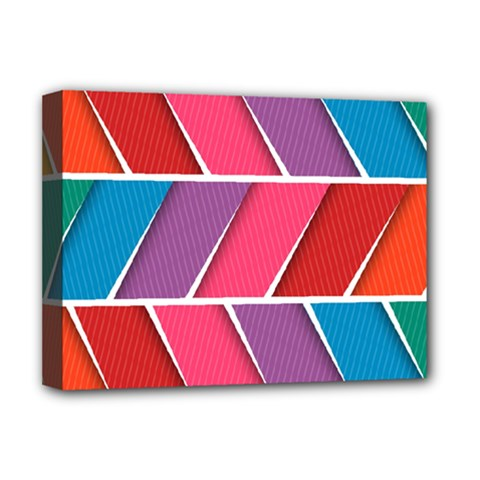 Abstract Background Colorful Deluxe Canvas 16  X 12