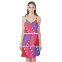 Abstract Background Colorful Camis Nightgown