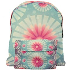 Background Floral Flower Texture Giant Full Print Backpack