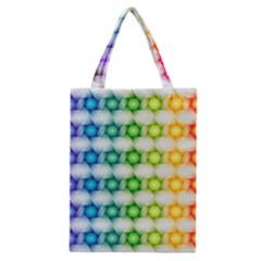 Background Colorful Geometric Classic Tote Bag