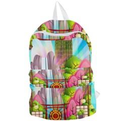 Zen Garden Japanese Nature Garden Foldable Lightweight Backpack