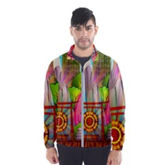 Zen Garden Japanese Nature Garden Wind Breaker (men)