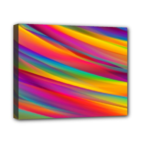 Colorful Background Canvas 10  X 8