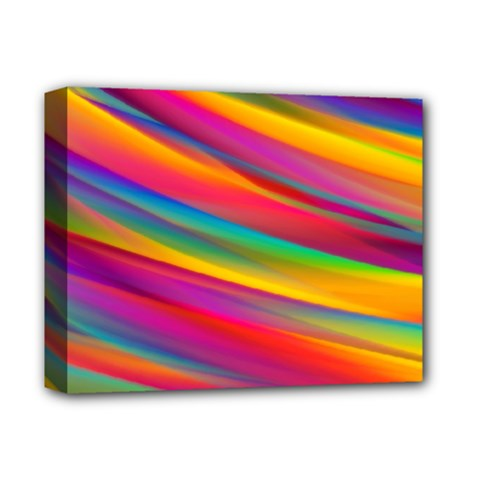 Colorful Background Deluxe Canvas 14  X 11