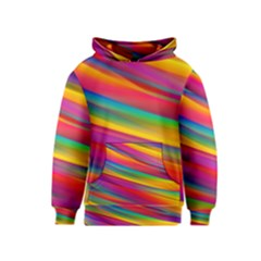 Colorful Background Kids  Pullover Hoodie