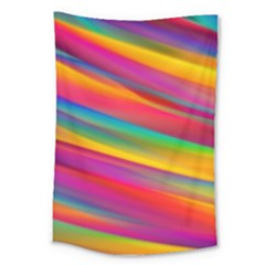 Colorful Background Large Tapestry