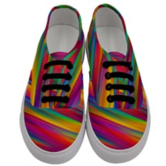 Colorful Background Men s Classic Low Top Sneakers