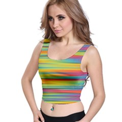 Colorful Background Crop Top