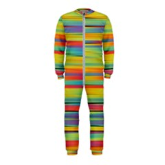 Colorful Background Onepiece Jumpsuit (kids)