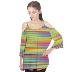Colorful Background Flutter Tees