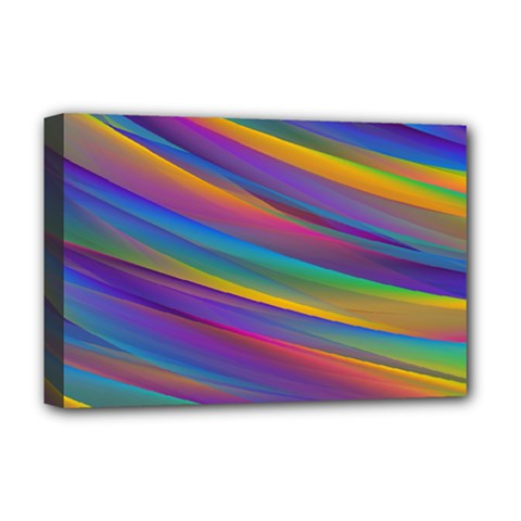 Colorful Background Deluxe Canvas 18  X 12