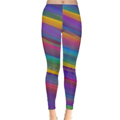 Colorful Background Leggings