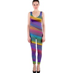 Colorful Background Onepiece Catsuit