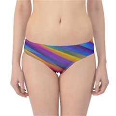 Colorful Background Hipster Bikini Bottoms