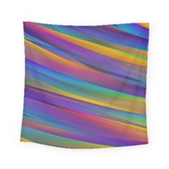 Colorful Background Square Tapestry (small)