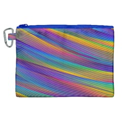 Colorful Background Canvas Cosmetic Bag (xl)
