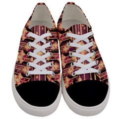 Seamless Pattern Patterns Women s Low Top Canvas Sneakers