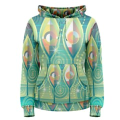 Background Landscape Surreal Women s Pullover Hoodie