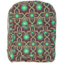 Pattern Background Bright Brown Full Print Backpack