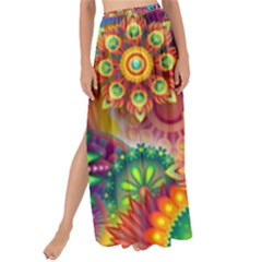 Colorful Abstract Background Colorful Maxi Chiffon Tie Up Sarong