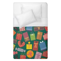 Presents Gifts Background Colorful Duvet Cover (single Size)