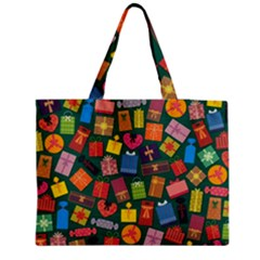 Presents Gifts Background Colorful Medium Tote Bag
