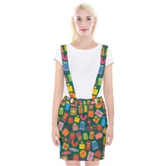 Presents Gifts Background Colorful Braces Suspender Skirt