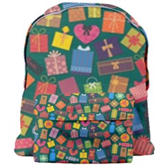 Presents Gifts Background Colorful Giant Full Print Backpack
