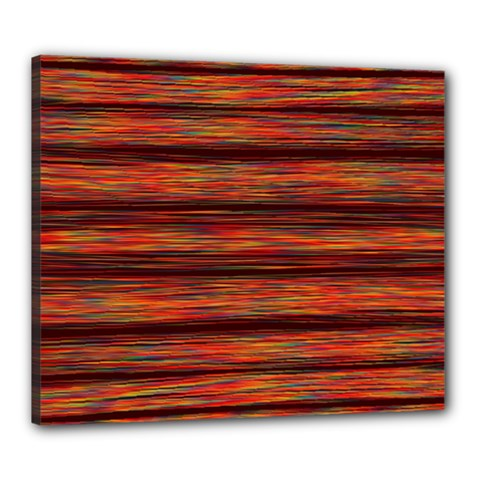 Colorful Abstract Background Strands Canvas 24  X 20