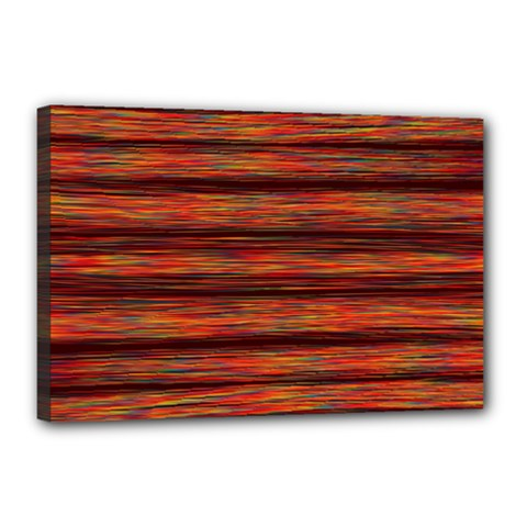 Colorful Abstract Background Strands Canvas 18  X 12