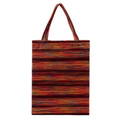 Colorful Abstract Background Strands Classic Tote Bag
