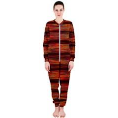 Colorful Abstract Background Strands Onepiece Jumpsuit (ladies)