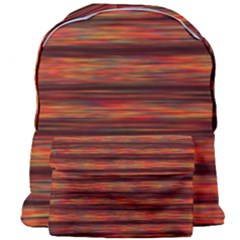 Colorful Abstract Background Strands Giant Full Print Backpack