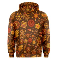 Pattern Background Ethnic Tribal Men s Pullover Hoodie