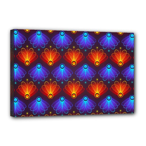 Background Colorful Abstract Canvas 18  X 12