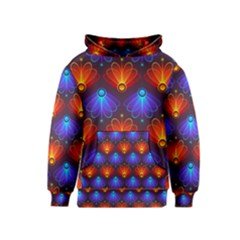 Background Colorful Abstract Kids  Pullover Hoodie