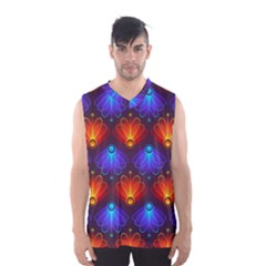 Background Colorful Abstract Men s Basketball Tank Top