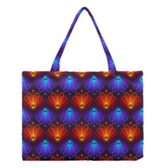 Background Colorful Abstract Medium Tote Bag