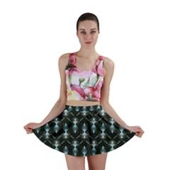 Seamless Pattern Background Mini Skirt