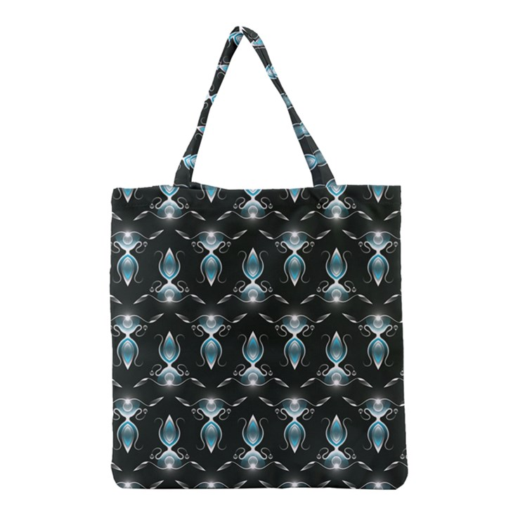 Seamless Pattern Background Grocery Tote Bag