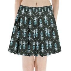 Seamless Pattern Background Pleated Mini Skirt