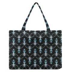 Seamless Pattern Background Zipper Medium Tote Bag