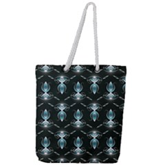 Seamless Pattern Background Full Print Rope Handle Tote (large)